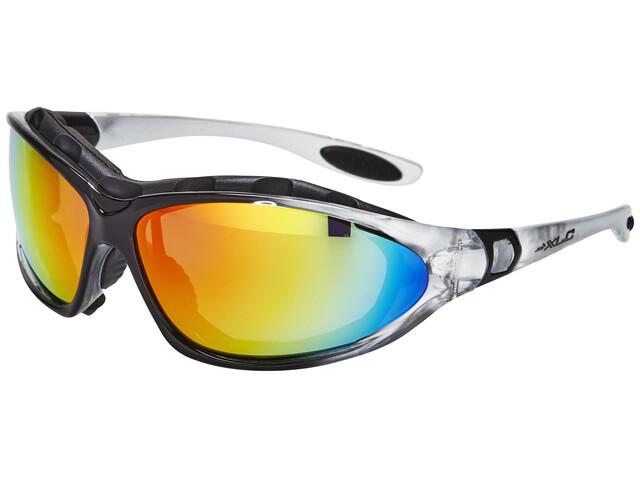 XLC Reunion SG-F05 Sonnenbrille transparent/rot verspiegelt